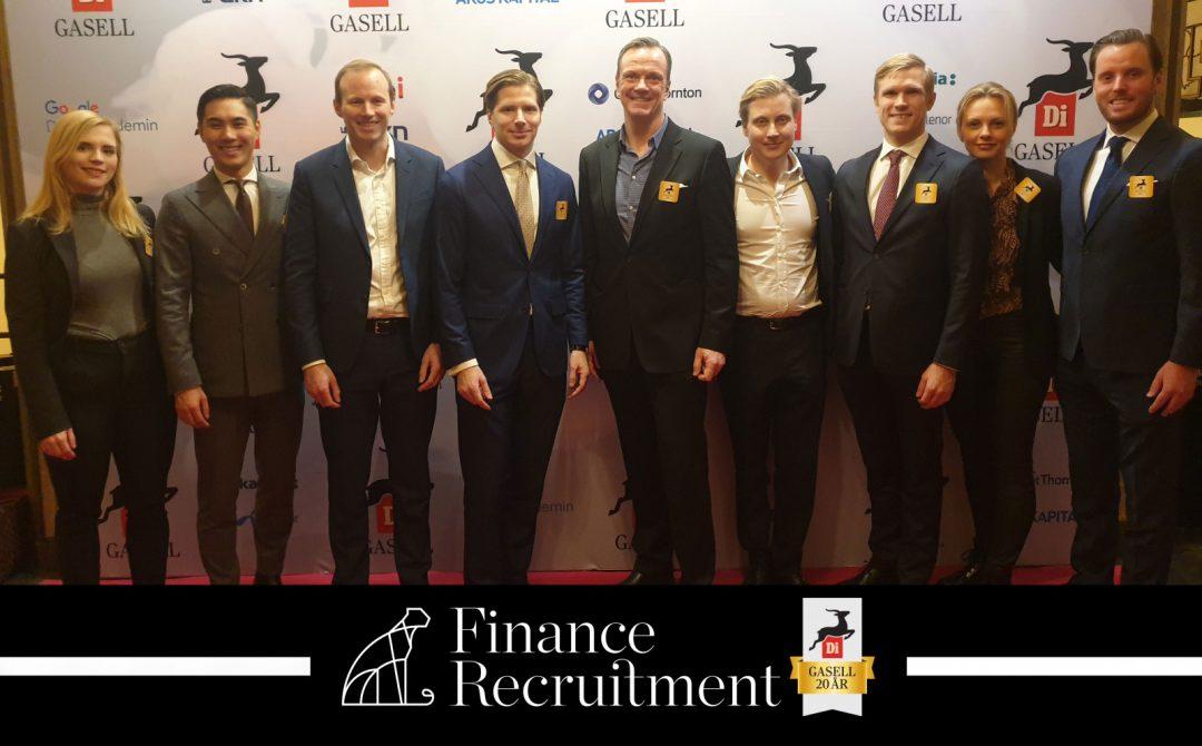 Finance Recruitment Di Gasell 2019