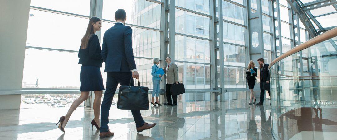 Investment professionals som arbetar med bank och finans