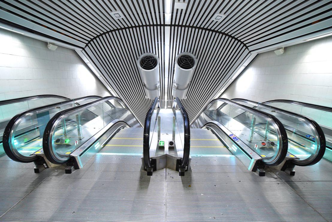 Rulltrappor i stockholms tunnelbana